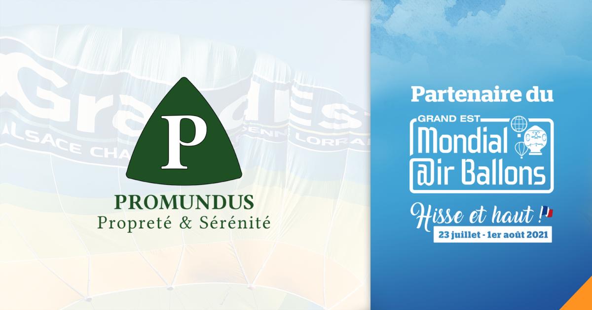 Promundus partenaire du mondial air ballon à chambley
